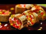 Rollitos de fresas con crema / receta de rollos / recetas saludables / recetas sanas