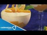 Receta de yogurt con chocolate blanco y mango. Receta de yogurt / Receta de yogurt