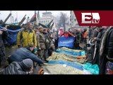 En Ucrania se rompe la tregua y hay nuevos enfrentamientos; hay al menos 60 muertos/ Paola Barquet