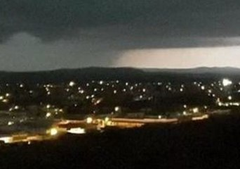 Thunderstorm Brings Heavy Rain to Drought-Stricken Broken Hill, New South Wales