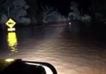 Black Hill Creek Overflows as Heavy Rains Is Set to Hit New South Wales