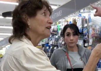 Bystander Challenges Woman Alleged to Have Harassed Shoppers for Speaking Spanish