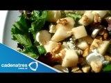 Deliciosa Ensalada de Espinaca con Queso Azul y Nueces Caramelizadas / Ensaladas