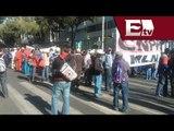 Campesinos de Hidalgo se manifiestan en la Delegación Cuauhtémoc / Vianey Esquinca