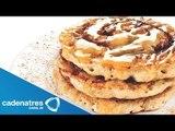 Receta para preparar waffles de queso ricotta. Receta de waffles / Recetas fáciles y rápidas