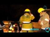 Autobús de pasajeros se queda sin frenos y deja 40 peregrinos heridos en Morelos