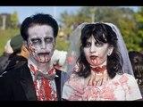 Realizan sorprendente boda zombie en Reino Unido