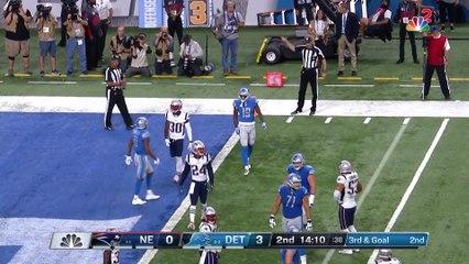 Patriots vs. Lions Week 3 Highlights - NFL 2018