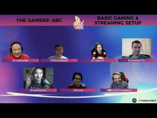Gamers' ABC Podcast: Basic Gaming and Streaming Setups (Part 1)