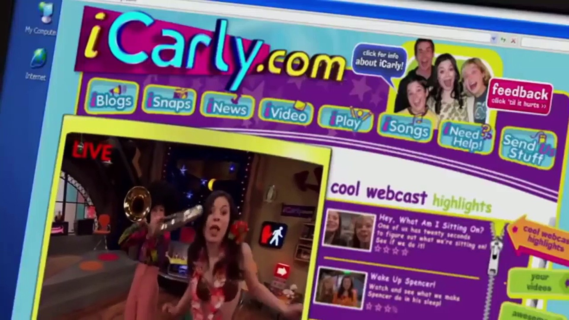 iCarly S02E01 iSaw Him First
