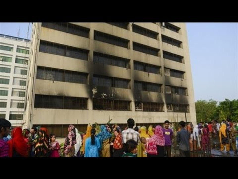 Se incendia fábrica de ropa en Bangladesh / 912 personas muertas /Tragedia textil en Bangladesh