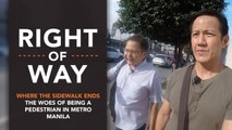 [Right of Way] Where the sidewalk ends: The woes of being a pedestrian in Metro Manila