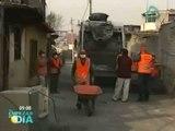 Inician trabajos de limpieza en zona de la tragedia en Xalostoc, Ecatepec