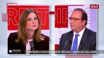 François Hollande : Jean-Luc Mélenchon « ne peut pas être la solution »