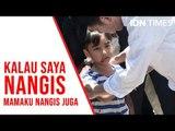 Cerita Haru Izrael Korban Gempa Palu Bertemu Presiden Jokowi