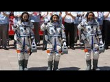 Tres astronautas chinos, listos para una misión de 15 días en el espacio