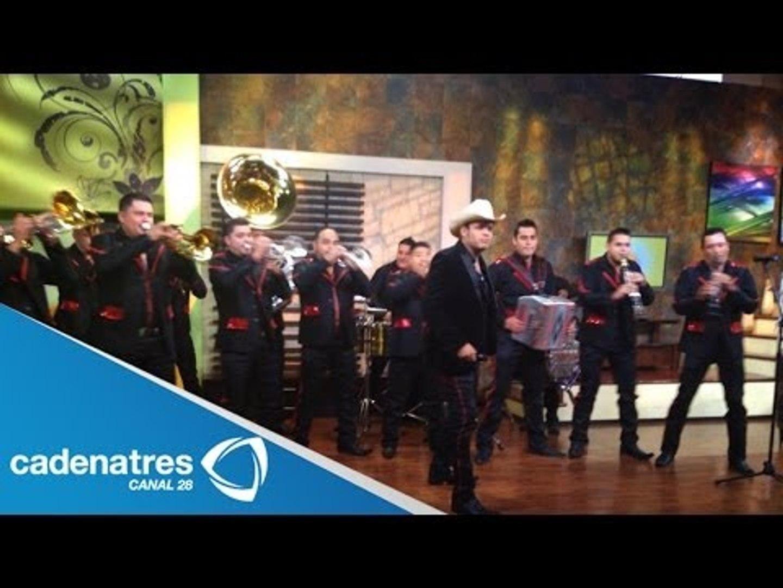 Banda Jerez de Marco Antonio Flores canta en Nuestro Día