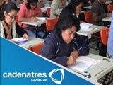 Se realizó en México Concurso Nacional de Plazas Docentes