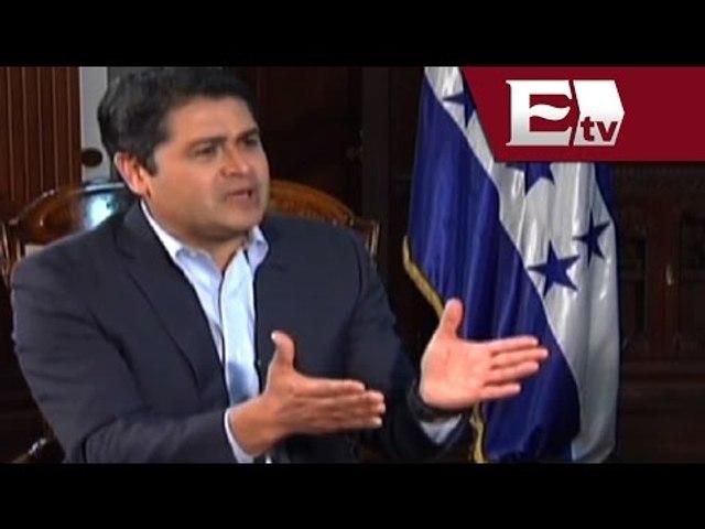 Entrevista a Juan Orlando Hernández, presidente de Honduras (Parte 2)/ Pascal | Godialy.com