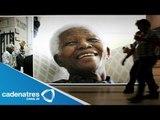 Mandela abrió los ojos/ Madiba reaccionó, abrió los ojos y movió la cabeza / Mandela reacciona