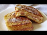 Receta de sandwich montecristo con jamón y queso / Montecristo sandwich with ham and cheese