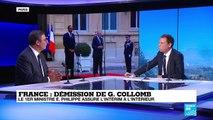 Démission de Gérard Collomb : Le Premier ministre assure l''intérim à l''Intérieur