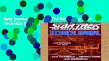 Best product  Star Trek: The Next Generation Technical Manual (Star Trek Next Generation