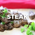 RECIPE:  We are kicking Steak Bites up a notch with this crazy good marinade!SOUND ON for some sexy fun!
