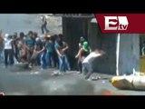 Protestas en Cisjordania a favor de Gaza concluyen con enfrentamientos contra la Policía