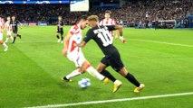Paris Saint-Germain - Étoile Rouge Belgrade : Le geste technique de Neymar Jr