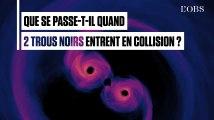 La Nasa révèle le ballet de deux trous noirs en collision