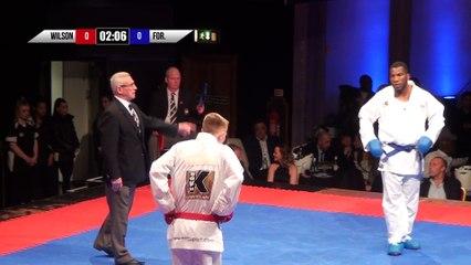 2018 | 10K Karate Clash | Group 2 | Round 1 | Wilson v Foresyth