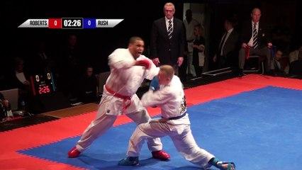 2018 | 10K Karate Clash | Group 2 | Round 1 | Roberts v Rush