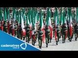 Ejercito realiza ensayo para desfile del 16 de Septiembre / Desfile 16 Septiembre