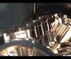 VÍDEO: 1 minuto hipnotizado, así se esculpe un bloque de cuatro cilindros de aluminio