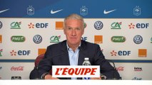 La liste de Deschamps - Foot - Bleus - L. Nations