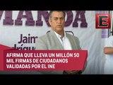 Dialogaría con Ríos Piter sobre una candidatura independiente única: El Bronco
