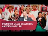 'Ni saltos al vacío ni caudillos o mesías'; el país no quiere aventuras políticas: Meade