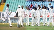 India VS West Indies 1st Test 1st Innings Highlights: WI All Out for 181,India Enforce Follow-On