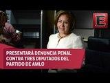 Eva Cadena culpa a legisladores de Morena de montar vídeos en su contra