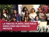 Paro en la Facultad de Filosofía y Letras de la UNAM contra el acoso sexual