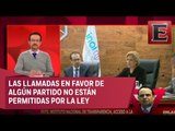 Javier Acuña habla sobre llamadas telefónicas en favor de partidos políticos