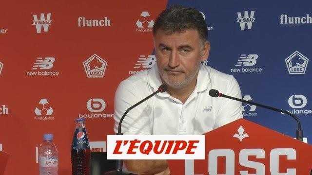 Galtier «Battre Marseille est une performance» - Foot - L1 _ Lille