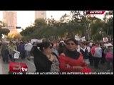 Estudiantes del IPN marchan por normalistas de Ayotzinapa / Andrea Newman