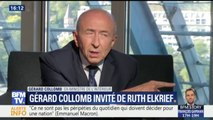 """Gérard Collomb """"reste dans un rapport d'amitié"""" avec Emmanuel Macron"""