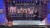 [Resumen] Lanus 1 - 5 River    Sportscenter    Superliga 2018