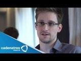 Snowden consigue trabajo en portal ruso / Snowden gets a job at Russian portal