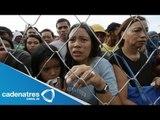Reconocen que es lenta la ayuda para Filipinas / Tifón golpea Filipinas
