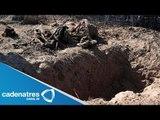 Encuentran  cuerpos en fosas clandestinas en Sonora