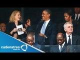 Los celos de Michelle Obama en el homenaje a Nelson Mandela